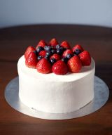 Strawberry and Blueberry Cream Shortcake